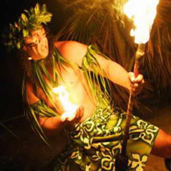 Germaines Luau Fire Dancer