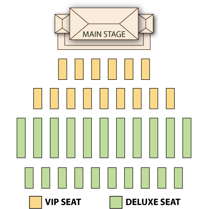 Diamond Head Luau Seating Chart